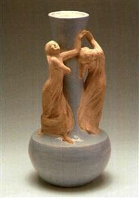vaso con fanciulle danzanti by domenico baccarini