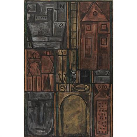 constructif mysterieux by joaquín torres garcía