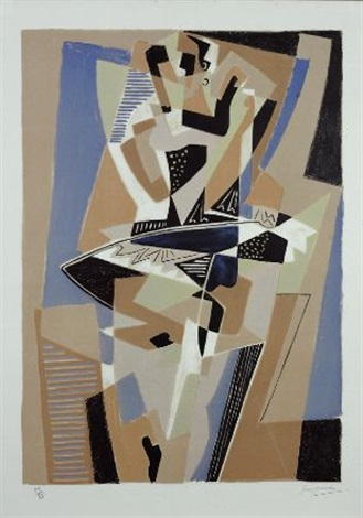 la danseuse by gino severini