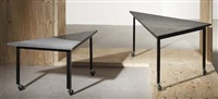 nesting tables (irgr; pair) by rei kawakubo
