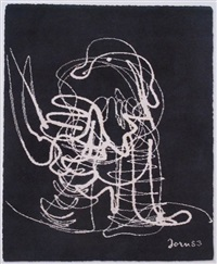 abstract figure by asger jorn