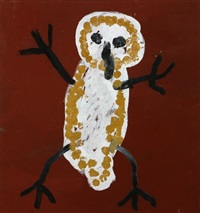 wandjina bird by patsy lulpunda anguburra