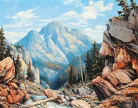 the canyon, windrush valley nr. canmore, alta by duncan mackinnon crockford