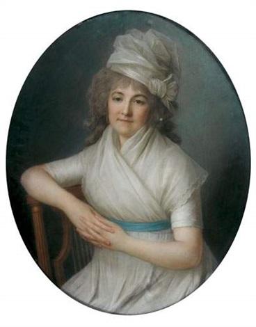 portrait de marie thérèse legendre de villemorin by marie victoire lemoine