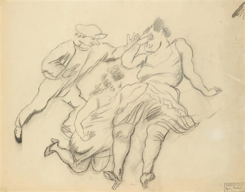 personnages rectoverso by jules pascin