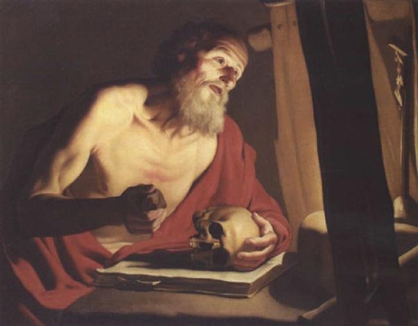 saint jérôme by trophîme theophisme bigot the elder