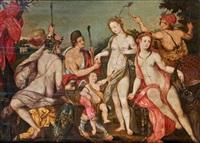 le jugement de pâris by hendrik goltzius