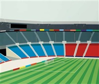 untitled - stadium by brian alfred