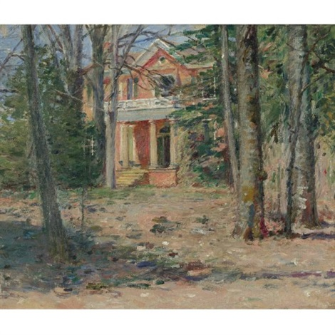 house in virginia castle hill by theodore robinson