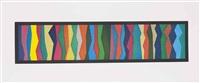 irregular zigzag bands by sol lewitt