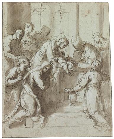 the circumcision by jacopo palma il giovane