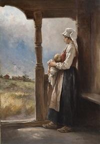 mor og barn by axel ender