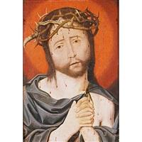 cristo varón de dolores by jan (joannes sinapius) mostaert
