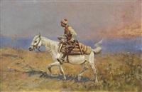 steppe rider by tadeusz ajdukiewicz