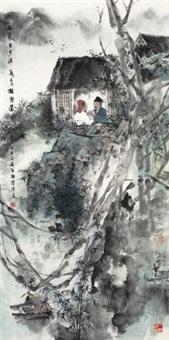 山气日夕佳 by ji qingyuan