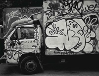 new york 4: 'truck' (east village), 1994 by spencer tunick