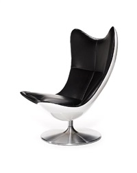 prototype chair, p0001 white glove by sir terence conran