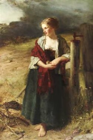 behold her single in the field by robert herdman