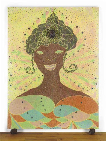 innervisions too high by chris ofili