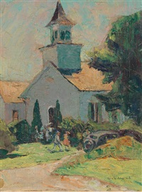 gates mills church by george g. adomeit