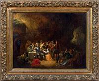la caverne des brigands, sujet tiré de gil blas de santillane by adolphe eugène gabriel roehn