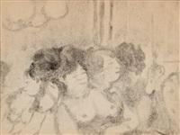 ces dames by edgar degas