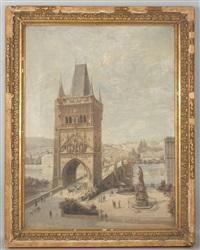 die karlsbrücke in prag by joseph langl