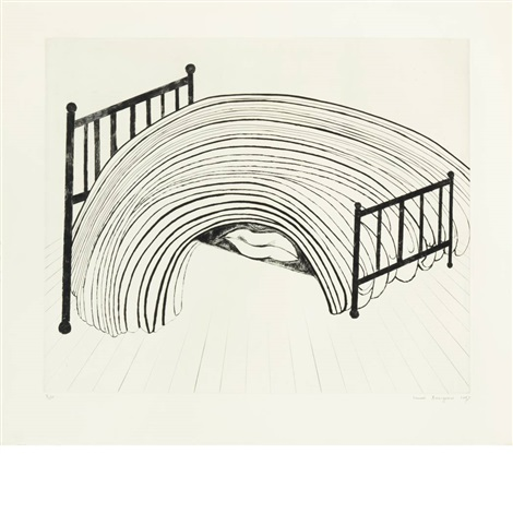 bed i by louise bourgeois