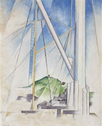 in the key of blue by charles demuth