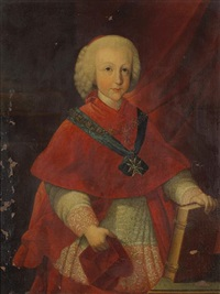a portrait of cardinal-infante ferdinand of austria by pietro labruzzi