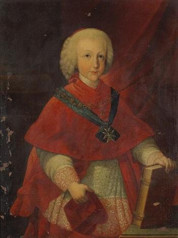 a portrait of cardinal infante ferdinand of austria by pietro labruzzi