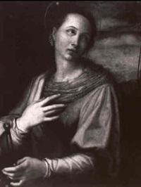 saint apollonia by giovanni bizzelli
