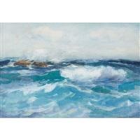 seascape by william st. thomas smith