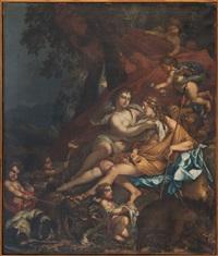 venus et adonis by charles alphonse dufresnoy