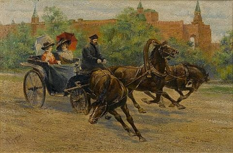 out for a ride by rudolf frentz the elder