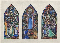 pentecost (triptych) by evie hone