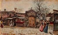 promenade en hiver by raffaele ragione