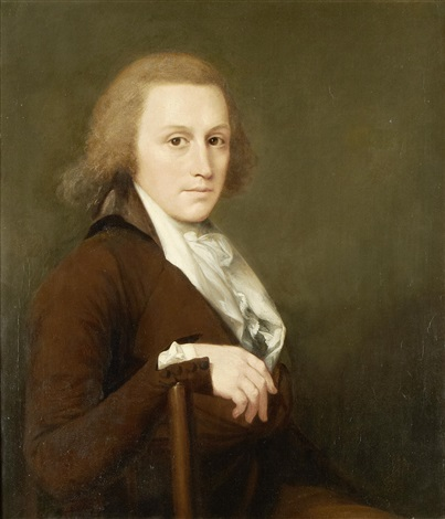 portrait of richard campbell bazett by robert home