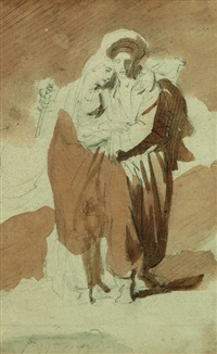 couple oriental by alexandre-évariste fragonard