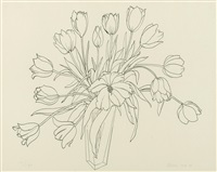 tulips by ruth asawa