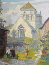village church by james bateman