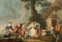 réjouissances villageoises by johann evangelist holzer