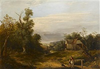 view at newport, essex by john mallows youngman