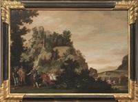 paesaggio con episodio di storia antica by flemish school (18)