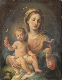 the madonna and child by sebastiano ceccarini
