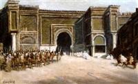 l'entrée du sultan à meknès by hans christian koefoed