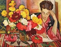 the letter (the wife of the artist) by traian biltiu dancus