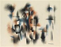 untitled (abstract composition) by norman lewis