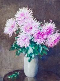 chrysanthemums by katharine cameron