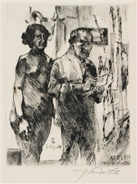 lm atelier by lovis corinth